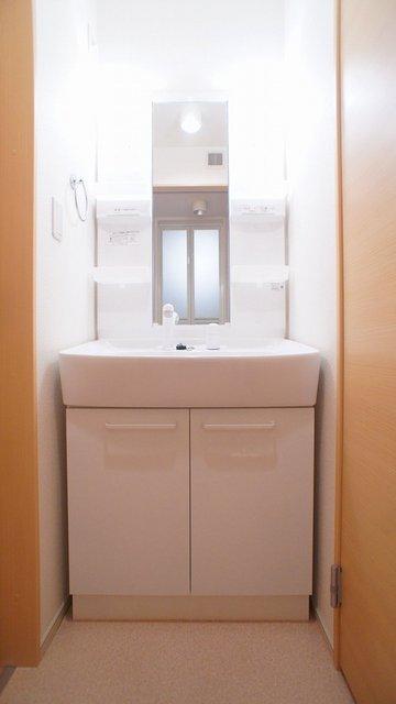 グラシオッソ 01020号室の洗面所