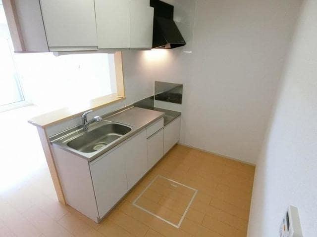 Rule 01010号室のキッチン