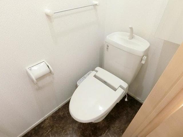 Rule 01010号室のトイレ