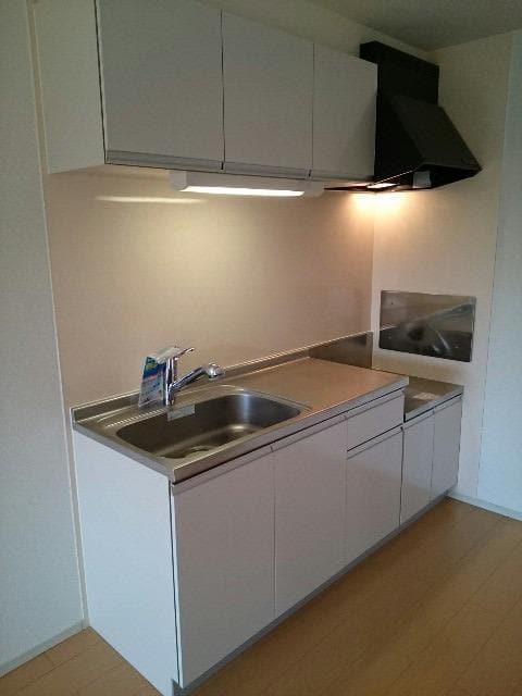 サンヴィレッジE 02010号室のキッチン