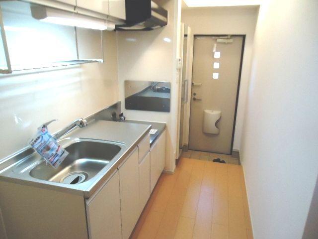 太陽 01010号室のキッチン