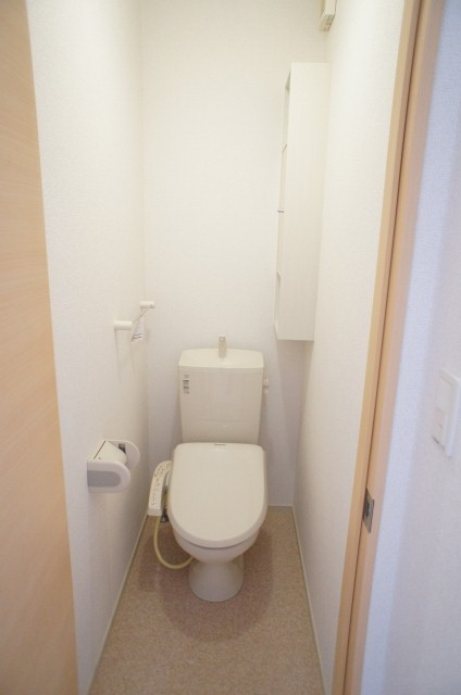 太陽 01010号室のトイレ