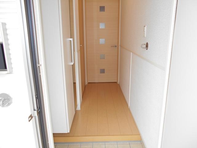 サニーパレスⅡ 01030号室の玄関