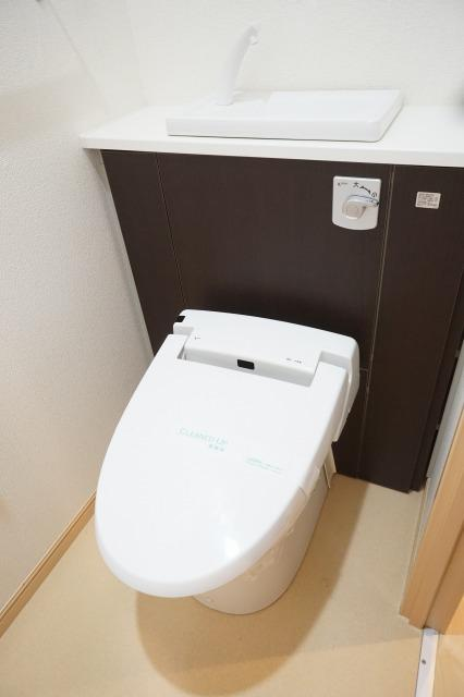 プリマヴェーラ エルモッサ 03080号室のトイレ