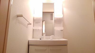 サニークレメント 01030号室の洗面所