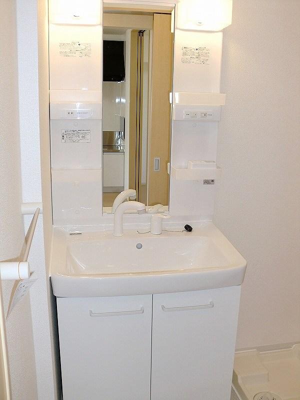 エコ ソラージュA 01020号室の洗面所