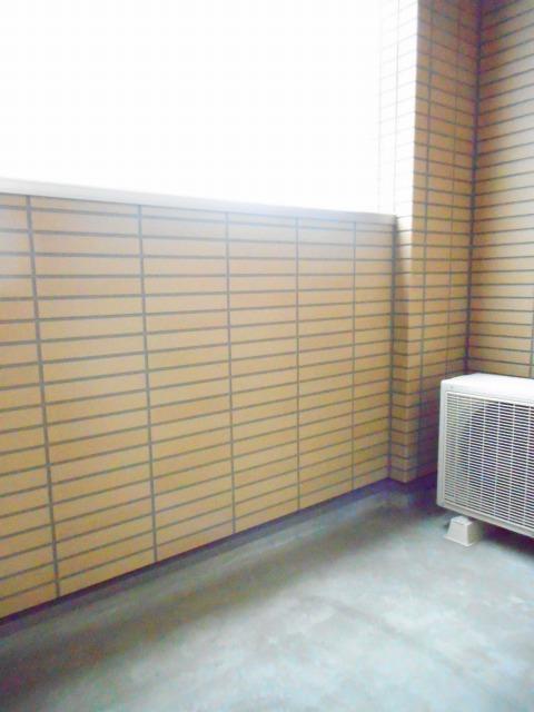 エコ ソラージュA 01020号室のバルコニー