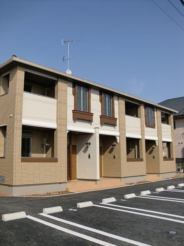エコ ソラージュA 01020号室の駐車場