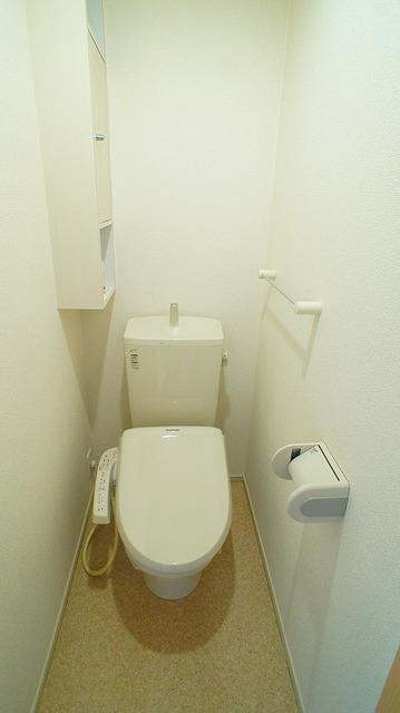 ラポ-ル Ⅲ 02030号室のトイレ
