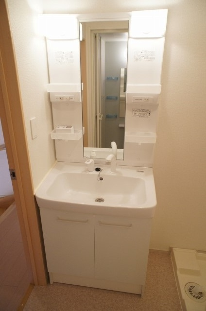 ラポ-ル Ⅲ 02040号室の洗面所