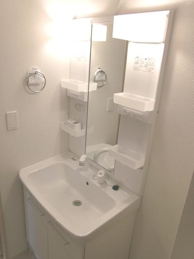 インプレス 01010号室の洗面所