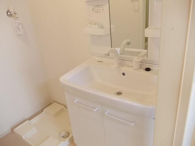 ハルモニア 02010号室の洗面所