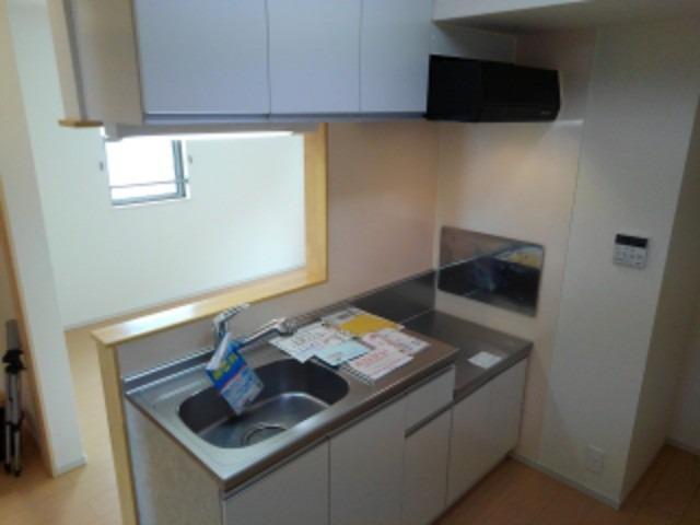 リバーサイド島の元 02010号室のキッチン