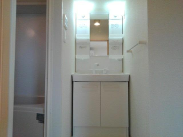 リバーサイド島の元 02010号室の洗面所