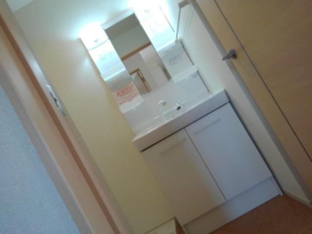 スモールウッズタウン宮司 01010号室の洗面所