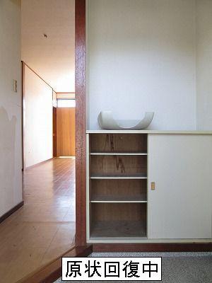 エクセル山本 02010号室の玄関