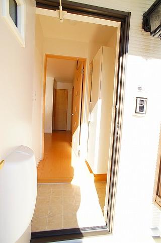 シェリル 01030号室の玄関