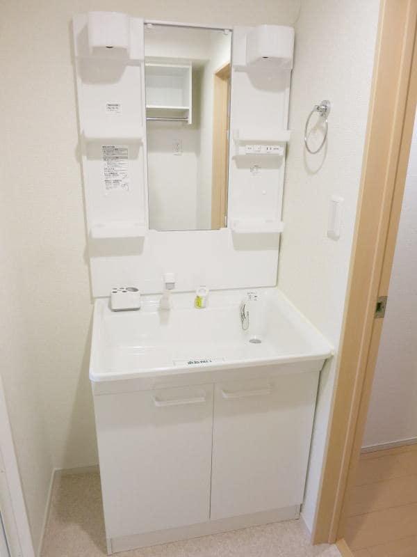 エルム 02010号室の洗面所