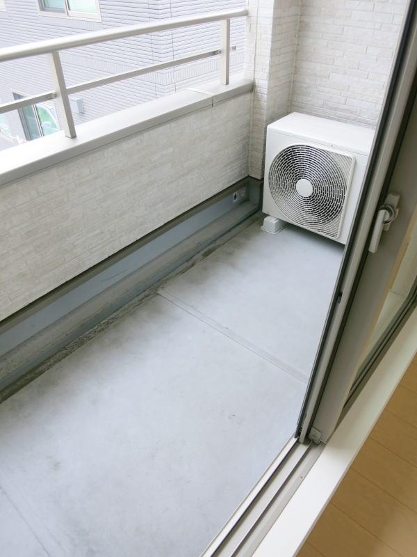 エルム 02010号室のバルコニー