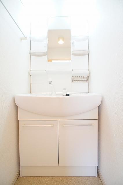 プレッソA 03020号室の洗面所