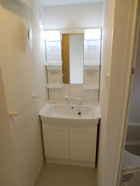 エコソラージュB 01030号室の洗面所