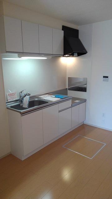 カーサ・アルマーレⅡ 01040号室のキッチン