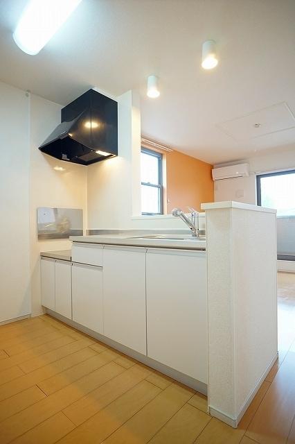 チャンプ ヴィレージ B 02020号室のキッチン