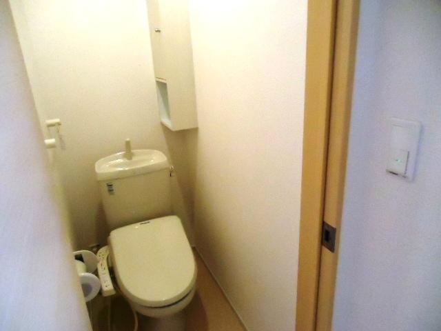 ティン・グローブⅥ 01020号室のトイレ