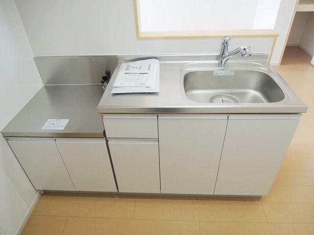 スプリング ヒル 03020号室のキッチン