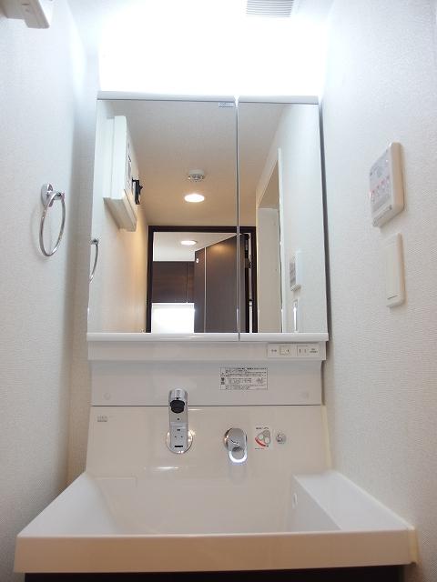 カルム ブローテ 01010号室の洗面所