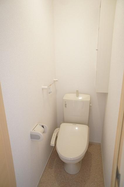 リュミエール オーブ 01030号室のトイレ