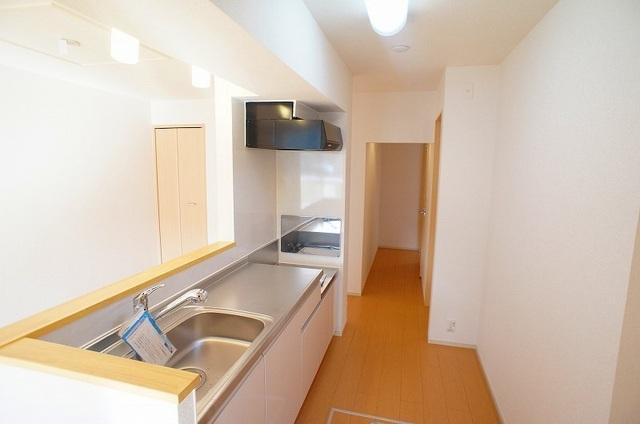 フォレスト パーク 01020号室のキッチン