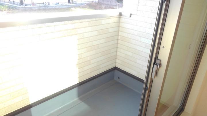 メルティング・ポット羽生 02050号室のバルコニー