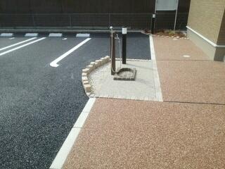 ブランドール 02030号室の駐車場