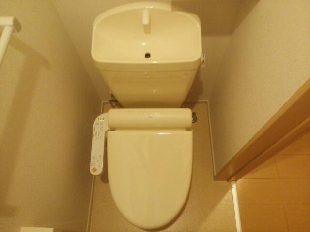 ブランドール 02030号室のトイレ