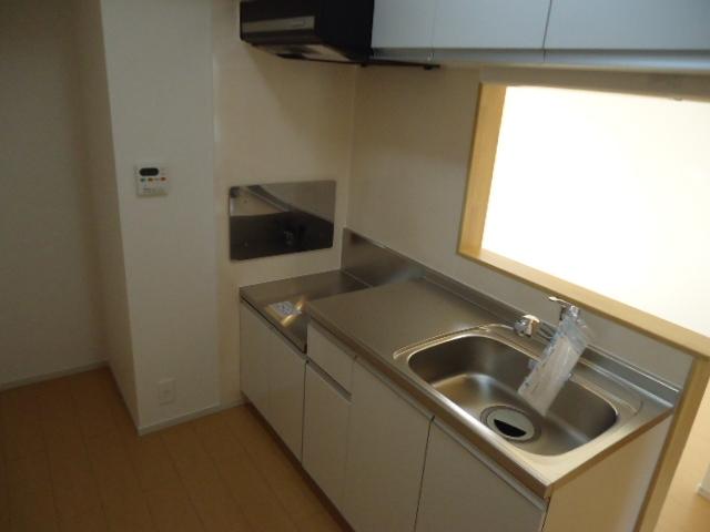 グラン・ホワイエ 02030号室のキッチン