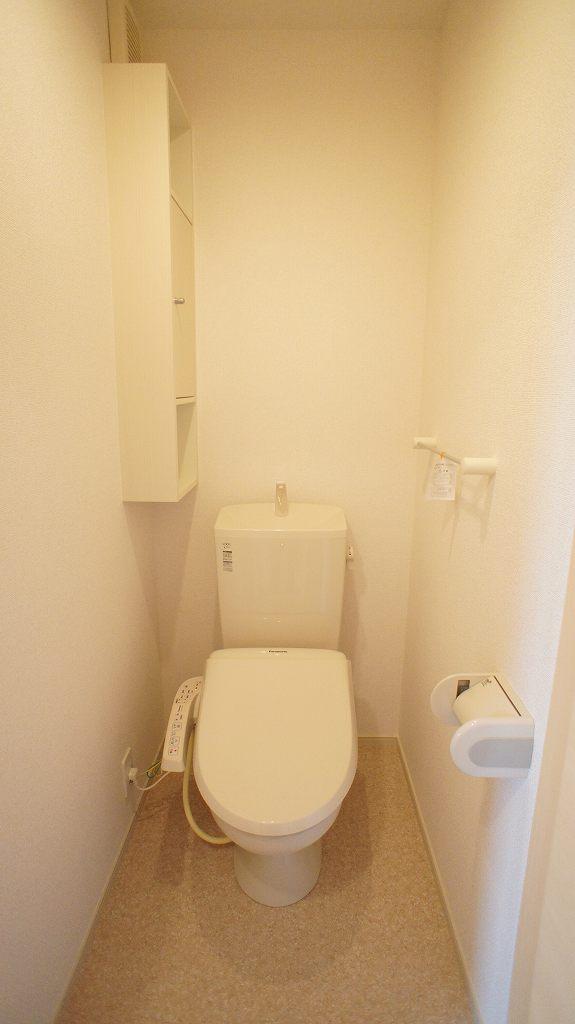 ジュネスⅡ 02040号室のトイレ