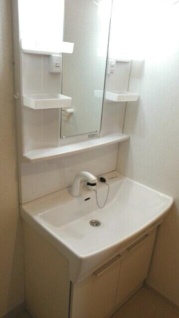 ルルディ フォティア 02010号室の洗面所