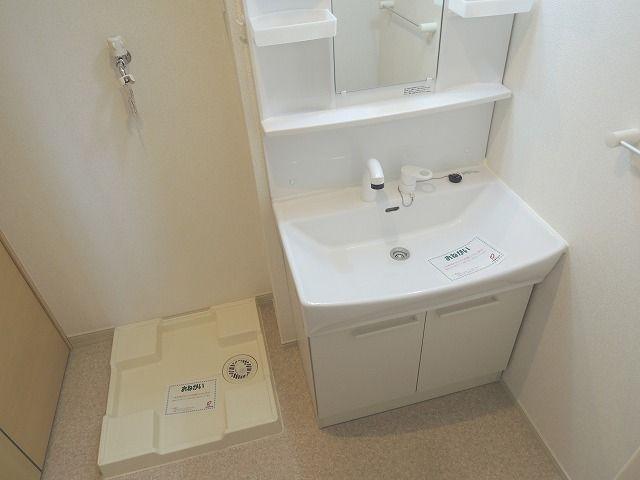 ディアコート 01010号室の洗面所