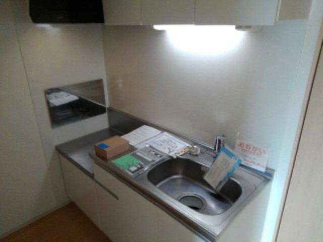 シック・ベルク 02020号室のキッチン