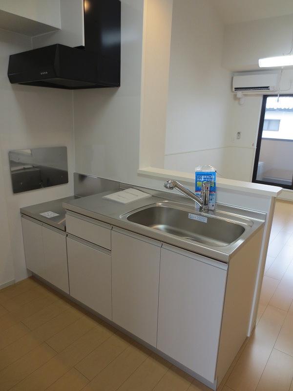 カーサ フェリジータ 02020号室のキッチン
