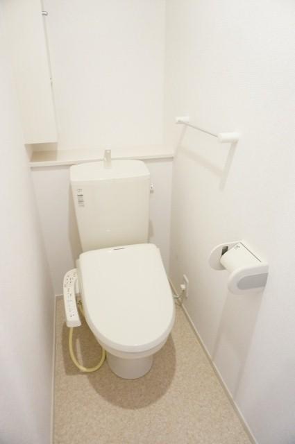エイト フローラ 02010号室のトイレ
