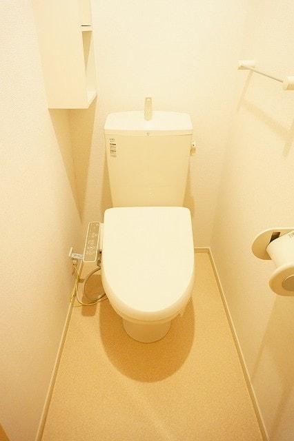 クラール鬼無 A 02020号室のトイレ