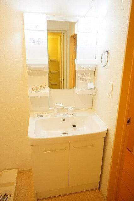 クラール鬼無 A 02020号室の洗面所