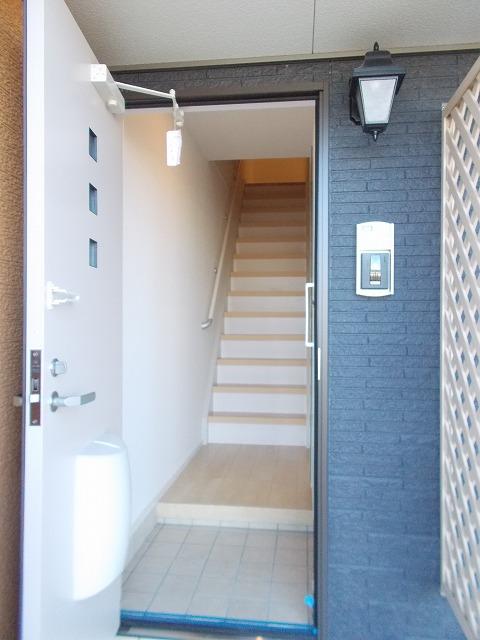 Balmy court 02020号室の玄関