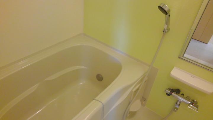 カルム スクエアⅡ 02050号室の風呂