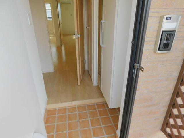 OrchardA 01010号室の洗面所