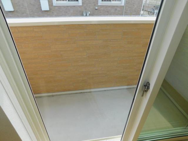 OrchardA 01010号室のバルコニー