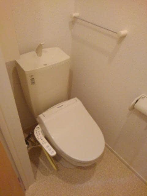 スター ライトⅡ 01040号室のトイレ