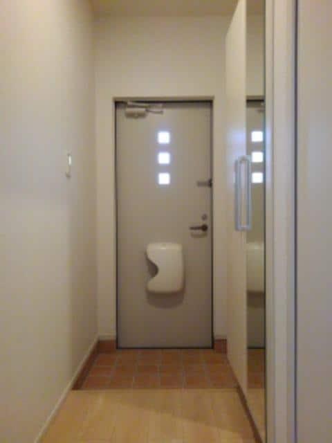 スター ライトⅡ 01040号室の玄関